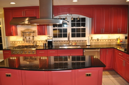Red Kitchen 3