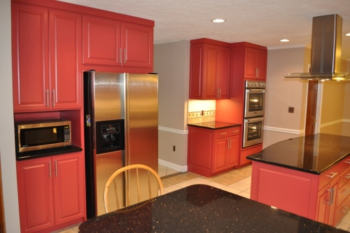 Red Kitchen 2